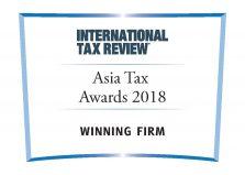 Asia Tax Awards 2018 Winning