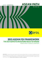 ASEAN Path #1 2015 ASEAN FDI Framework