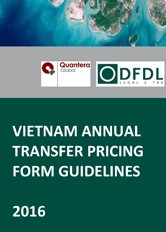 Vietnam Annual Transfer Pricing Form Guidelines 2016