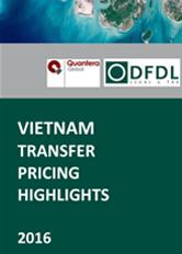 Vietnam Transfer Pricing Highlights 2016