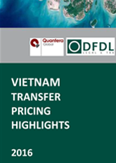 Vietnam Transfer Pricing Highlights 2016