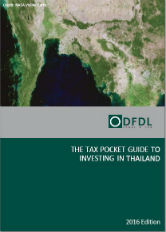 Thailand – Tax Pocket Guide to Investing in Thailand 2016 Edition