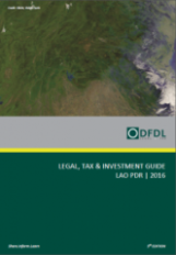 Lao PDR Investment Guide 2016