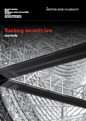 Banking security law in Asia Pacific
