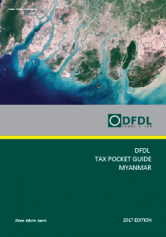 Myanmar – Tax Pocket Guide 2017 Edition