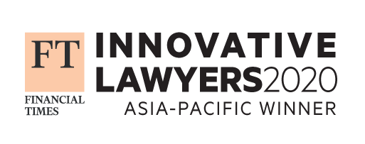 Financial Times' Most Innovative Law Firm in Managing Client Relationships Award 2020