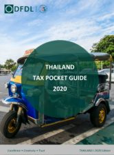 Thailand – Tax Guide 2020 Edition