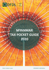 Myanmar – Tax Pocket Guide 2020 Edition