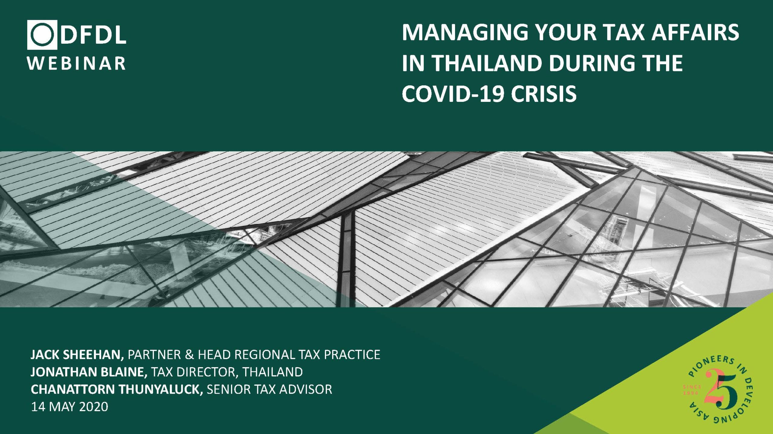 Managing Your Tax Affairs in Thailand During the COVID-19 Crisis