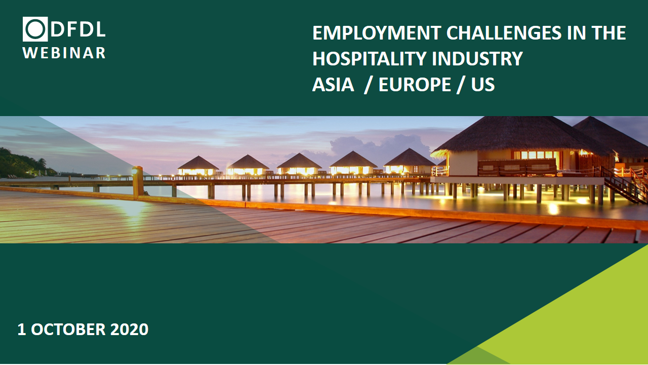 The New Normal – Recent Developments & Employment Challenges in the Hospitality Industry