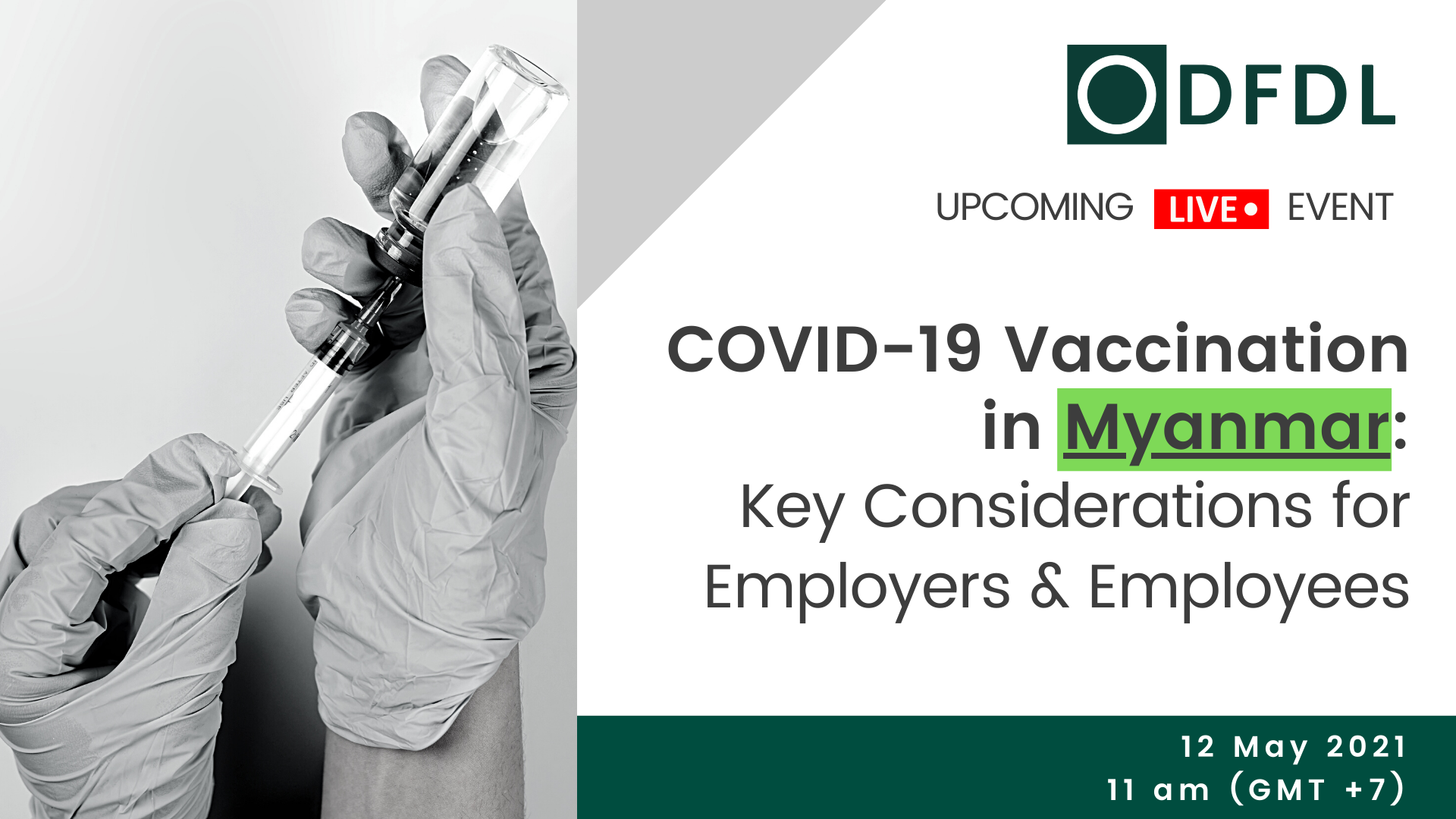 COVID-19 Vaccination in Myanmar: Key Considerations for Employers & Employees