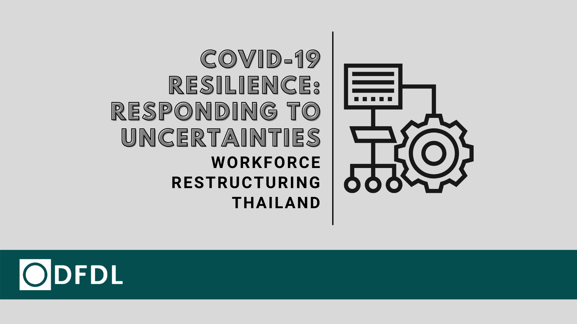 Workforce Restructuring – COVID19 Resilience: Responding to Uncertainties in Thailand