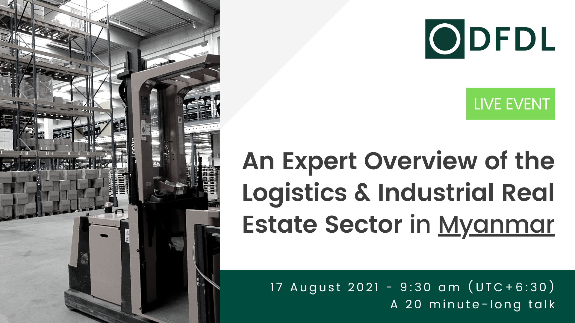 An Expert Overview of the Logistics & Industrial Real Estate Sector in Myanmar