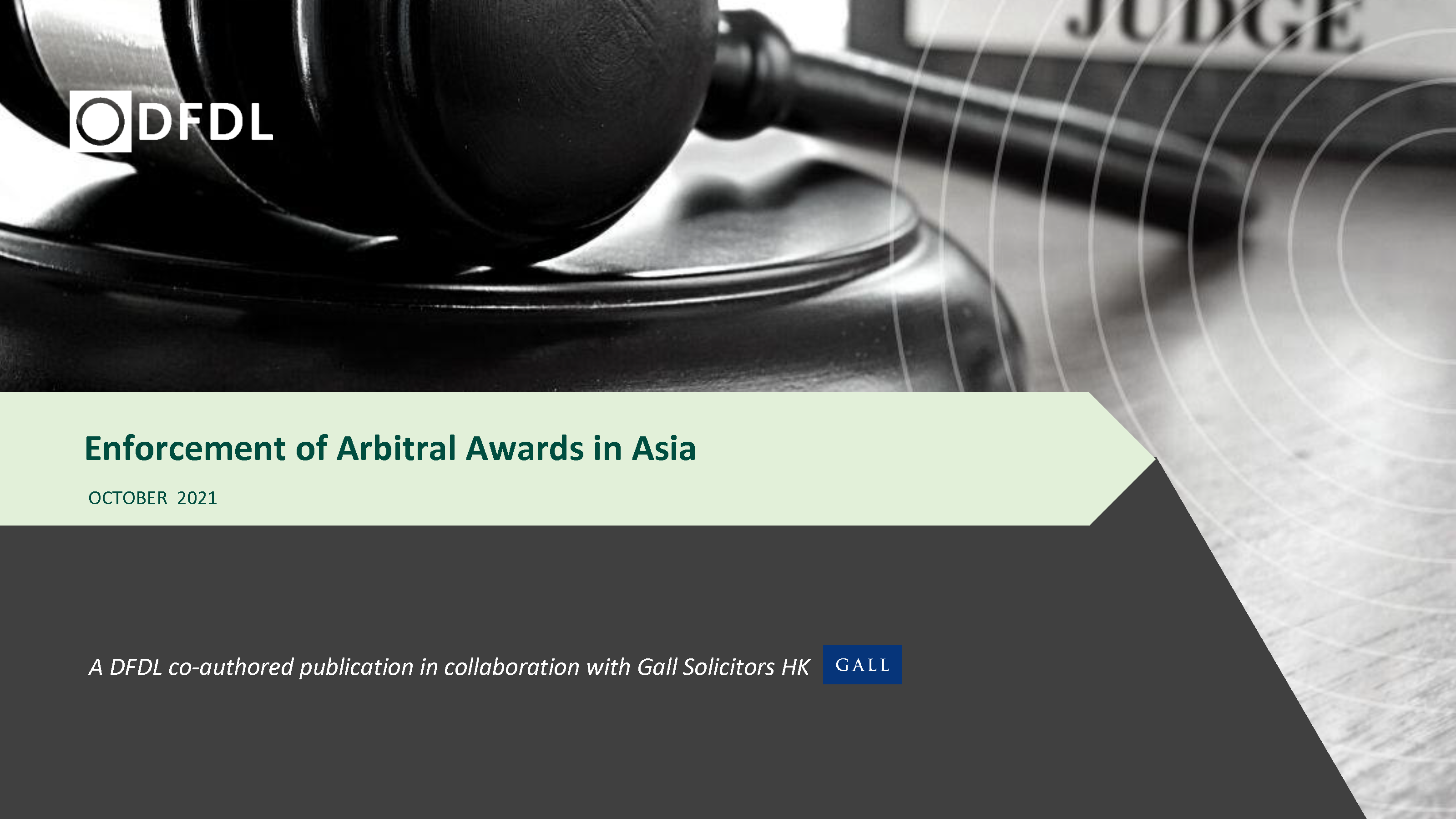 Enforcement of Arbitral Awards in Asia